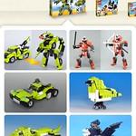 レゴ組みかえレシピアプリの写真