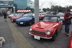 trico1800015 (tanayan) Tags: car automobile tricolore aichi japan nikon v3 health forest obu 愛知 大府 日本 park datsun nissan sr311 fairlady あいち健康の森