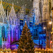 the Christmas market at St. Stephen's Cathedral
