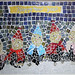 """""""Happy New Year"""" by Eman, mosaic, $100.00"""