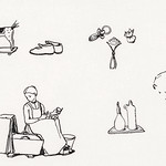 Woodcut icons by Julie de Graag (1877-1924). Original from The Rijksmuseum. Digitally enhanced by rawpixel. thumbnail