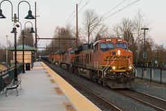 CSX K138-21 @ Yardley, PA (Dan A. Davis) Tags: csx bnsf locomotive railroad freighttrain train k140 d944cw et44c4 es44dc yardley pa pennsylvania