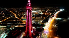 Blackpool Hyperlapse (scrappy nw) Tags: blackpool hyperlapse scrappynw scrappy drone dji djimavicpro djimavic2pro mavicpro mavic2pro mavic tower blackpooltower lancashire blackpoollights blackpoolilluminations illuminations sea beach seaside