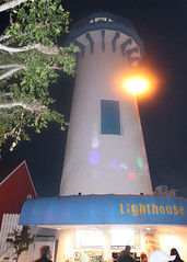 019 Projections On The Lighthouse (saschmitz_earthlink_net) Tags: 2018 california marinadelrey boat parade marinadelreyboatparade christmasparty suez