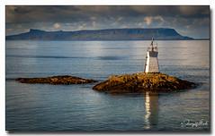 The Marker (jeremy willcocks) Tags: scotland mallaig sea landscape reflection marker island water sun sunlight clouds rocks wwwsouthwestscenesmeuk jeremywillcocks uk greatbritain