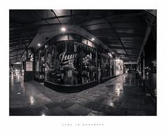 June in December (Parallax Corporation) Tags: southport junetheflorist blackwhite wideangle panorama streetlife streetphotography eastbankstreet lordstreet canopy sonya7rii zeissbatisfe18mmf28