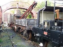 Classic Railway Restoration Projects (Terry Pinnegar Photography) Tags: beamish museum countydurham railway rollingstock simplex ubique 15097 britishrailways 4wdm wagon crane rail smithofrodley 91554 ner northeasternrailway