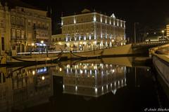 Hotel Palace Aveiro (jesussanchez95) Tags: aveiro portugal nocturna noche night hotelpalaceaveiro reflejo reflection
