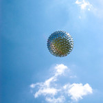An upper-level weather balloon sails into the sky after release from the Cape Canaveral weather station in Florida. Original from NASA . Digitally enhanced by rawpixel. thumbnail