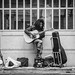 streetmusician in parma/ italy