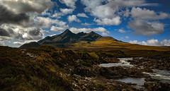 sligachan 1 (Bilderschreiber) Tags: bruachnafrithe sgurrnangilean river sligachan isle skye scotland schottland mountains berge clouds wolken uk