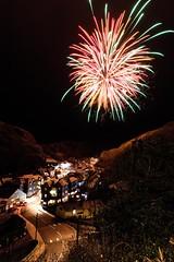 Boscastle New Year (billp1301) Tags: fireworks boscastle new year village england unitedkingdom gb