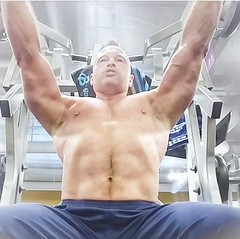 incline pecs (ddman_70) Tags: shirtless pecs abs muscle gym chest workout treasuretrail