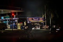 (bigboysdad) Tags: night urban urbanscene bike sydney tempe nikond800e nikkor85mmf18g