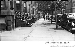 1939  100 block of Lancaster st   (103) (albany group archive) Tags: 1930s old albany ny vintage photos picture photo photograph history historic historical