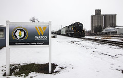 It's Official (Seven Tracks Photography) Tags: wamx drei wamx3896 gp382 tuscola illinois decatureasternillinoisrailroad watco railroad train locomotive photography mixedfreight local