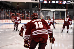 Hockey @ Northeastern (dailycollegian) Tags: umassamherst universityofmassachusetts northeastern hockey winter sports ice athletics gaudet