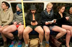 "140112 No Pants 015 (hoffman) Tags: naked undressed undressing prank pranks nopants trousers flashmob action fun joke humour humor travel transport londonunderground tubetrain subway internationalnopantssubwayride londonlegsofthe2013internationalnotrousersunderground leisure play 181112patchingsetforimagerights london uk gbr londonlegsofthe2013internationalnotrousersundergroundride davidhoffman davidhoffmanphotolibrary socialissues reportage stockphotos""stock photostock photography"" stockphotographs""documentarywwwhoffmanphotoscom copyright"