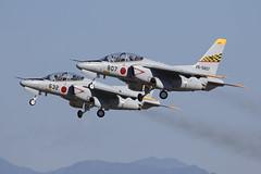 26-5807_KawasakiT-4Pair_JapanASDF_RJNH_Img01 (Tony Osborne - Rotorfocus) Tags: kawasaki t4 hamamatsu air japan selfdefense force jasdf 2018 ab dolphin
