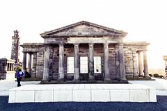 Calton Hill (Prashanth S) Tags: scotland scot scottish scoita uk edinburgh calton hill urban columns architecture