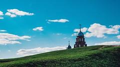 Troitskaya Church (Valentin_Efimov) Tags: vladimir vladimirskayaoblast russia ru church churches landscape landscapes green grass summer sky architecture orthodox religion