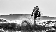 Windsurf à Brutal Beach (Nat_L2_photographies) Tags: windsurf planche voile vent mer méditerranée brutal beach var saut jump