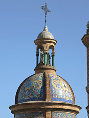 Chapel of El Carmen Dome, Triana, Seville, Spain (geoff-inOz) Tags: dome seville architecture heritage triana historic chapel building andalusia spain 1920s