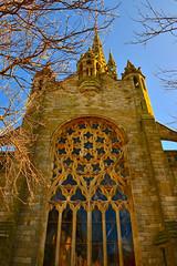 cathédrale du kreisker, saint pol de léon (eric-foto) Tags: church église cathédrale saintpoldeléon pennarbed nikond800 bretagne breizh bzh brittany patrimoine sunset