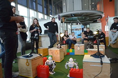 Otelo Futurespace – The Digital Playground (Ars Electronica Center) Tags: arselectronicacenter arselectronica otelo otelofuturespace playground digital futurespace lehrlinge lehrlingstag schüler workshop roboter 2019 foyer bene