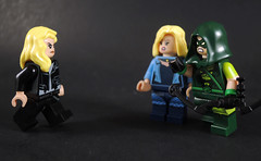 Black Siren? (-Metarix-) Tags: lego super hero minifig arrow cw green black siren canary custom dc comics comic tv show universe