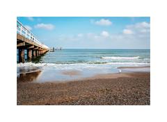Timmendorfer Strand XI (Passie13(Ines van Megen-Thijssen)) Tags: deutschland timmendorferstrand beach strand ostsee ocean pier nature fujifilm x100f inesvanmegen inesvanmegenthijssen