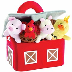 Adorable Barnyard Animal Set with Carrier and Sounds (mywowstuff) Tags: gifts gadgets cool family friends funny shopping men women kids home