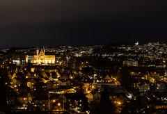 NTNU Trondheim by night (guillaumebour) Tags: night nightshot trondheim nidaros cathedral ntnu winter norway