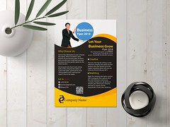 Flyer (Graphicsd_mj) Tags: stationary invoice business card banner booklet cover page note path brochure letterhead
