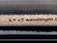 The Physics of Music (mikecogh) Tags: vienna huasdermuziek houseofmusic museum physics equation maths math