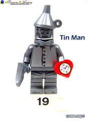 19) Tin Man (WhiteFang (Eurobricks)) Tags: lego collectable minifigures series city town space castle medieval ancient god myth minifig distribution ninja history cmfs sports hobby medical animal pet occupation costume pirates maiden batman licensed dance disco service food hospital child children knights battle farm hero paris sparta historic brick kingdom party birthday fantasy dragon fabuland circus people photo magic wizard harry potter jk rowling movies blockbuster sequels newt beasts animals train characters professor school university rare sign movie warner brothers apoc
