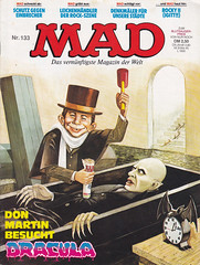MAD #133 (micky the pixel) Tags: comics comic heft magazin satire humor bsv williamsverlag mad alfredeneumann apichaibhakdibutr vampir vampire nosferatu dracula