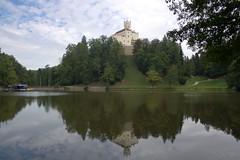 Trakošćan Castle / Замъкът Тракошчан (mitko_denev) Tags: хърватска загоре croatia zagorje hrvatska dvorac castle замък burg schloss trakoscan тракошчан езеро lake