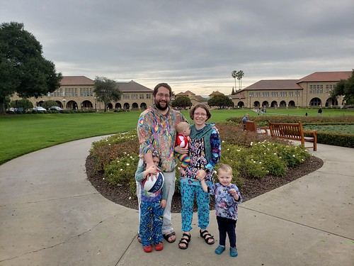Family picture at Stanford