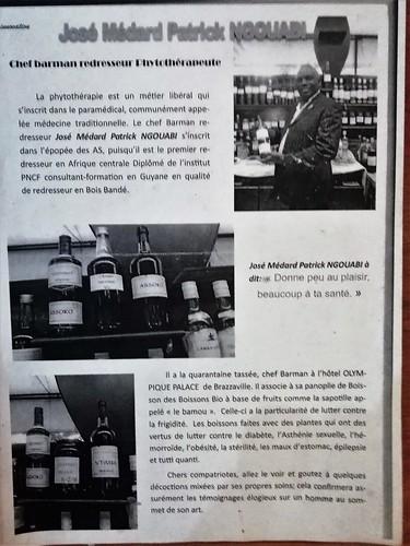 Bar de l'hôtel Olympique Palace - José Médard Patrick NGOUABI