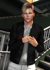 LOTD 403 (Brendo Schneuta) Tags: galvanized jacket shirt hair doux necklace vexiin clefdepeau catwa bento poses pose new releases indigo messiah event events menonly equal10 a keepcalm secondlifeblog second sl secondlife blog bloggersl blogger men male boy moda fashion estilo style brendo game avatar virtual