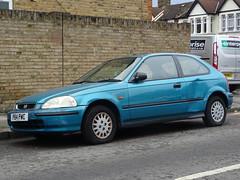 1997 Honda Civic 1.4i Auto (Neil's classics) Tags: vehicle 1997 honda civic 14i
