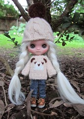 Baby, It's Cold out! (SJB Dolls) Tags: petite blythe alpaca doll