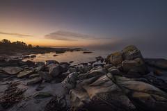 Afterglow ll - VJ3_3178 (Viggo Johansen) Tags: afterglow aftersunset beach regebeach regestranden sea shoreline coast rocks rogaland