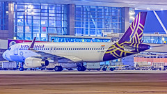 Vistara Airbus A320 VT-TTD Bangalore (BLR/VOBL) (Aiel) Tags: vistara airbus a320 vtttd bangalore bengaluru canon60d tamron70300vc night ramp noflash