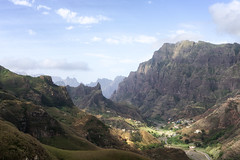 (davе) Tags: select cape verde capeverde africa 2018 sanantao ribeiragrande valley mountain landscape sonya7 sonyfe2870mmf3556oss sel2870 sky clouds