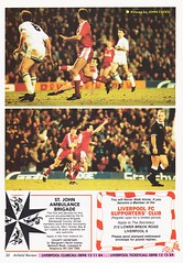 Liverpool vs Blackburn Rovers - 1991 - Page 30 (The Sky Strikers) Tags: liverpool blackburn rovers fa cup road to wembley the anfield review one pound