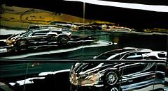Melting Bugatti Veyron (mkk707) Tags: film analog 35mmfilm leicar7 leicasummiluxr50mm2ndmodel11776 kodakportra800 bugatti veyron wolfsburg autostadt vintagelens vintagefilmcamera wwwmeinfilmlabde germany germancameras