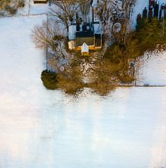 Davidsonville Snow Fields 011819-014 (richandalice) Tags: aerial annapolis davidsonville drone edgewater farm fields snow winter