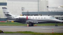 OO-MMT (ianossy) Tags: oommt cessna 560xl citation xls c56x glasgowairport gla egpf airserviceliege